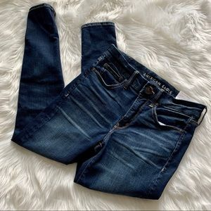 AE Lux(e) Jean High-Waisted Jegging Short NWT